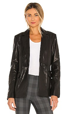 Trinity Leather Blazer Rag & Bone $995