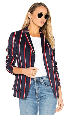 Howson Blazer in Navy Multi
