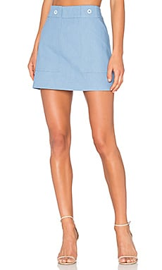 Wades Skirt in Pale Blue