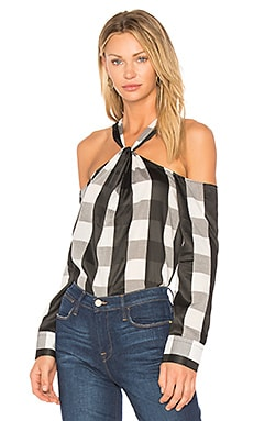 Collingwood Plaid Top
