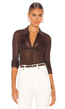 Pacey Button Down Top Rag & Bone $325 Collections