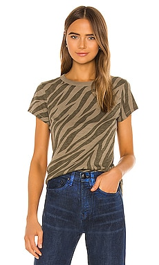 All Over Zebra Tee Rag & Bone $75