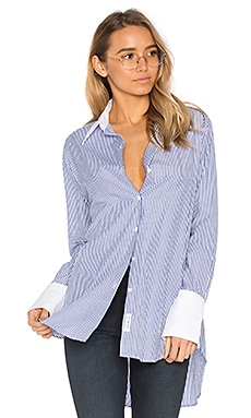 Essex Button Up in Blue Stripe