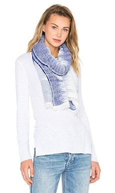 Rag & Bone Ombre Scarf in Royal Blue