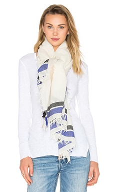 Rag & Bone Addie Scarf in Cream