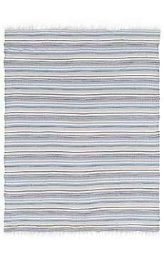 Rag & Bone Plains Beach Blanket in Light Blue