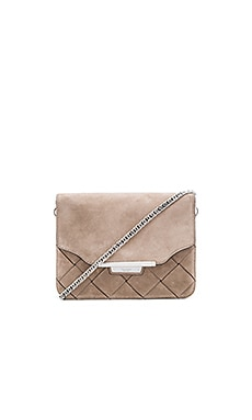 Rag & Bone Moto Clutch in Warm Grey