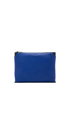 Medium Pouch in Cobalt