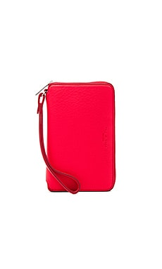 Phone Wallet in Crimson