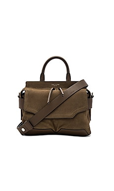 Small Pilot Satchel in Militare