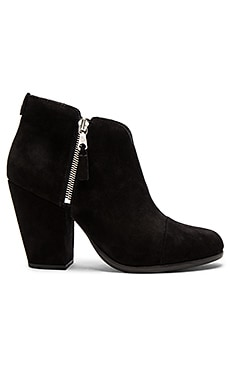 Margot Boot in Black Suede