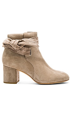 Dalia Boot in Stone Suede