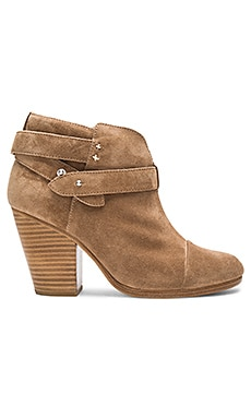 Harrow Boot in Camel Suede