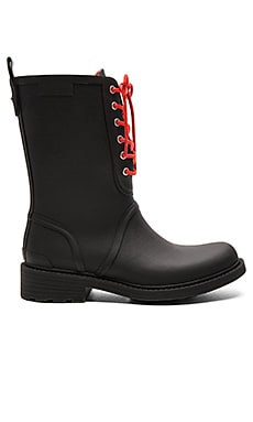 Ansel Rain Boot in Black