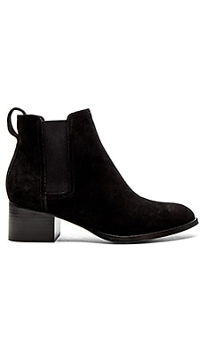 Walker Boot in Black Suede