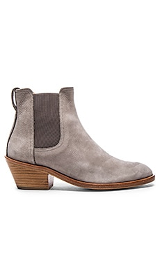 Rag & Bone Dixon Bootie in Grey Nubuck