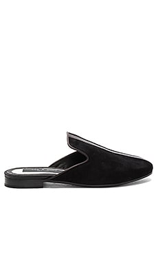 Savoy Loafer in Black Suede