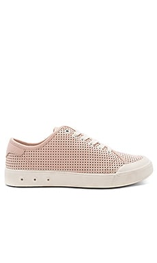 Standard Issue Lace Up Sneaker in Pink Perforated