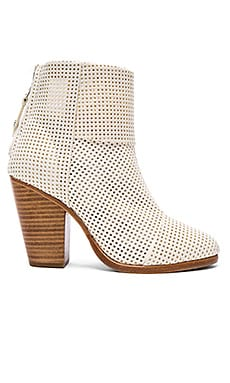 rag & bone Classic Newbury Bootie in White Perforated