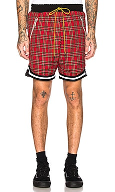 Plaid Basketball Shorts Rhude $525