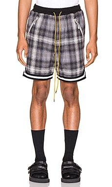 SHORT PLAID BBALL Rhude $506