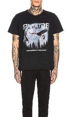 PARADISE 티셔츠 Rhude $216