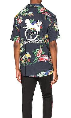 Hawaiian Shirt Girl Rhude $514