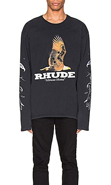 T-SHIRT ALMOST HOME LONG SLEEVE Rhude $286