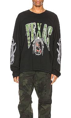 TEXAS 그래픽 티셔츠 Rhude $410