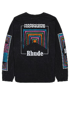 Box Perspective Long Sleeve Tee Rhude $405