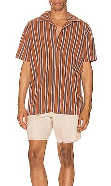 Vacation Stripe Shirt Rhythm $60