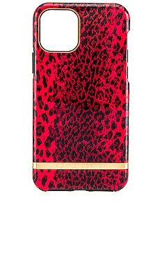 RED LEOPARD 폰 케이스 Richmond & Finch $46