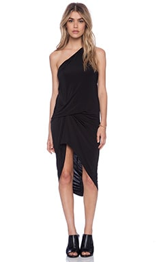 Riller & Fount Presley Dress in Onyx