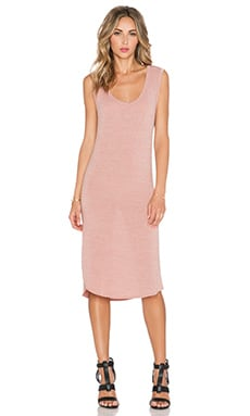 Riller & Fount Beckett Dress in Rosegold