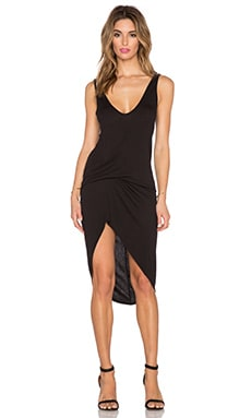 Riller & Fount Cristiano Dress in Coal