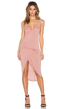 Riller & Fount Cristiano Dress in Rosegold