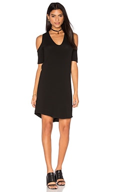 Riller & Fount Cory Mini Dress in Noir