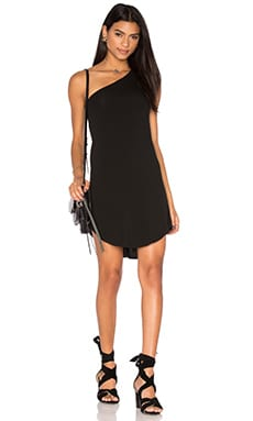 Riller & Fount Skip Dress in Noir