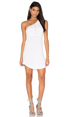 Riller & Fount Skip Dress in White