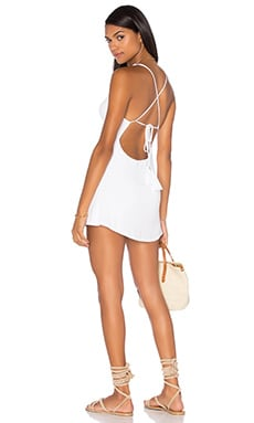 Miki Dress in White
