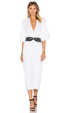 Luca Dress in White