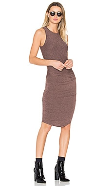Portia Midi Dress in Fig