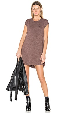 Polly Mini Dress in Fig
