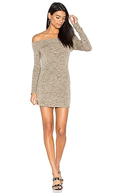 x REVOLVE Jimmy Off Shoulder Dress in Feather