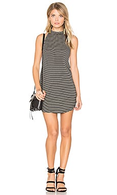 Ronnie Halter Dress in Black Bean