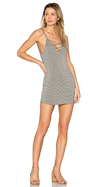 George Criss Cross Mini Dress