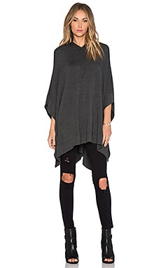 Riller & Fount Otto Hooded Poncho in Stud