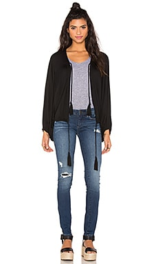 Riller & Fount Stevie Batwing Jacket in Obsidian