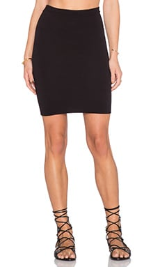 Riller & Fount Bonnie Skirt in Black