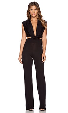 Riller & Fount Dempsey Jumpsuit in Coal